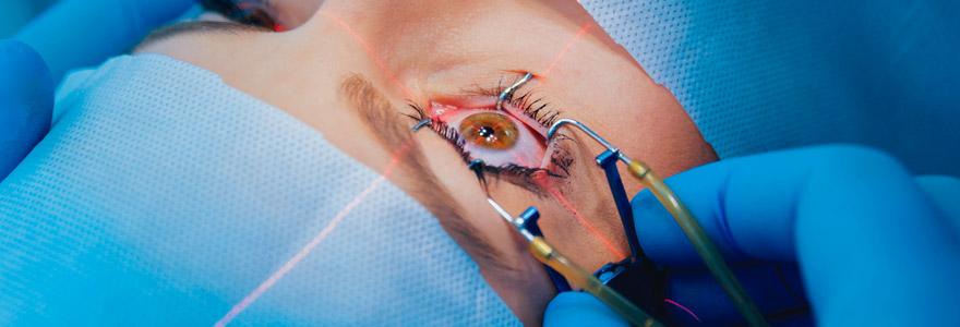 Chirurgie de paupières